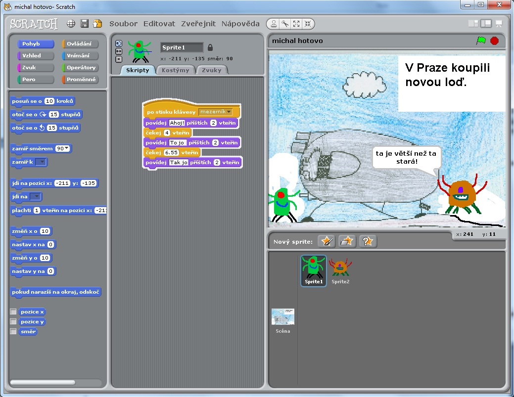 how to put internet sprite on scratch